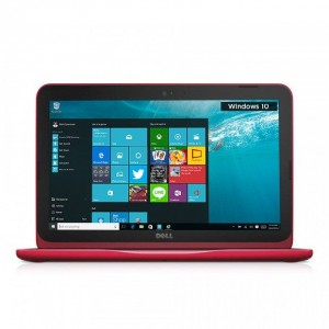 Dell Inspiron 11 3000 (3162) Laptop (Intel Celeron-N3050/ 4GB RAM/ 500GB HDD/ Intel HD Graphics/ Windows 10 Home) - Red