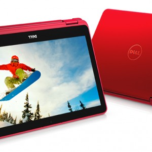 Dell Inspiron 11 3000 2-in-1 (3168) Laptop- Red (Intel Pentium-N3710/ 4GB RAM/ 500GB HDD/ 11.6 Inch Touch Screen/ Intel HD Graphics/ Windows 10 Home)